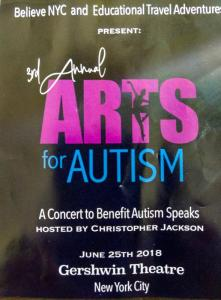 Third Annual Arts for Autism Benefit Concert