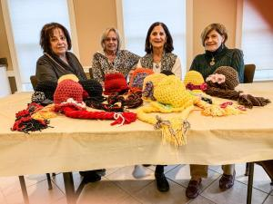 "Riviera Knit Wits Crochet/Knit, Decorate ""Princess Hats"""