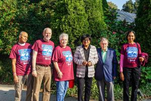 Janice, Len, Councilwoman Blackwell, Chief of Staff Cabry and suburban support group leaders (1) (1)