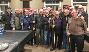 Riviera Pocket Pool Players Christmas Party