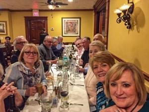 2018 Year-end Bowler's Club Dinner at Basile's Restaurant