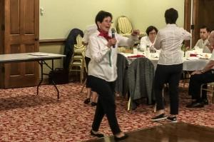 "Italian American Club Meeting - ""Tarantella"""