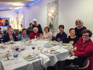2016 Year-end Holiday Luncheon at Anemos